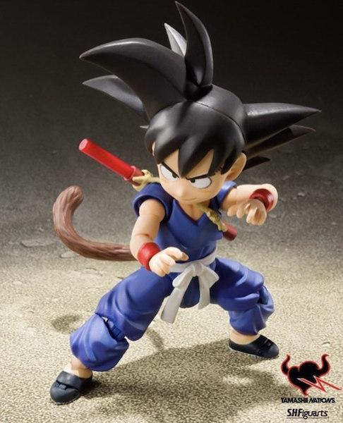 Dragon Ball World Adventure Exclusive S.H. Figuarts Son Goku Color Edition Figure & Jiren Preview