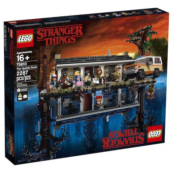 LEGO Stranger Things: The Upside Down 75810 Set Announced