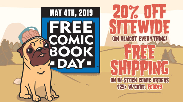 Things From Another World – FCBD 2019 Sale With 20% Off Sitewide