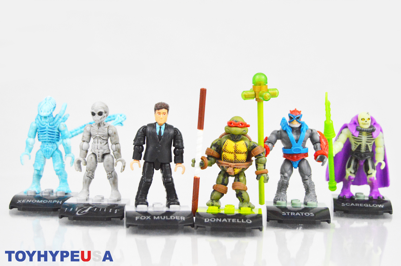 Mega Construx MCX Heroes Mini-Figure Series 5 Figures Review