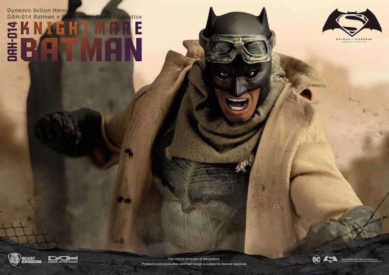 Beast Kingdom – Batman v Superman Dynamic 8ction Heroes Knightmare Batman PX Previews Exclusive