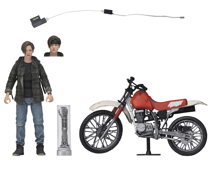 NECA Toys SDCC 2019 Exclusive – Terminator 2 John Connor With Bike Box Set