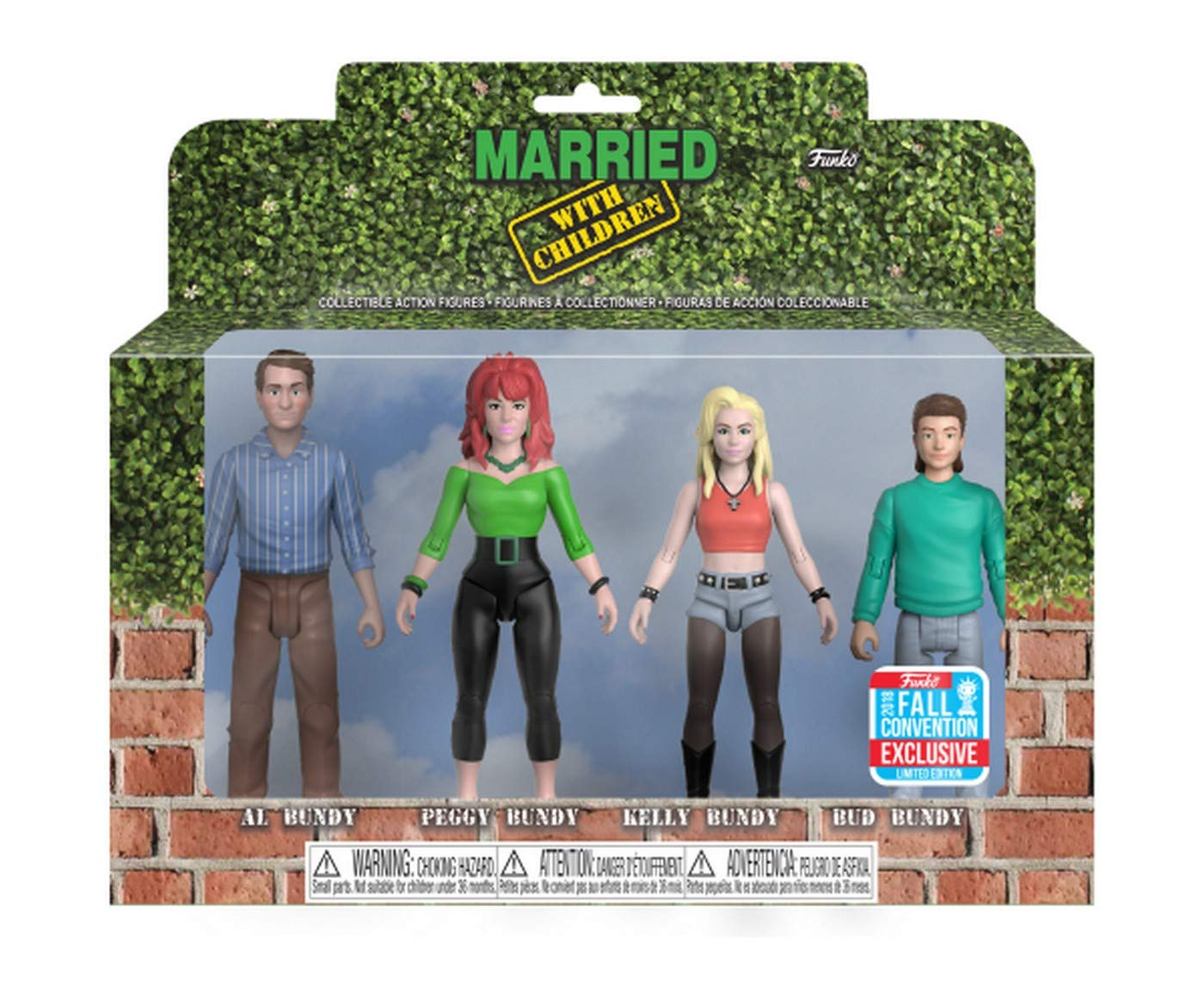 Funko Married With Children Figure 4-Pack Now $6 On Amazon