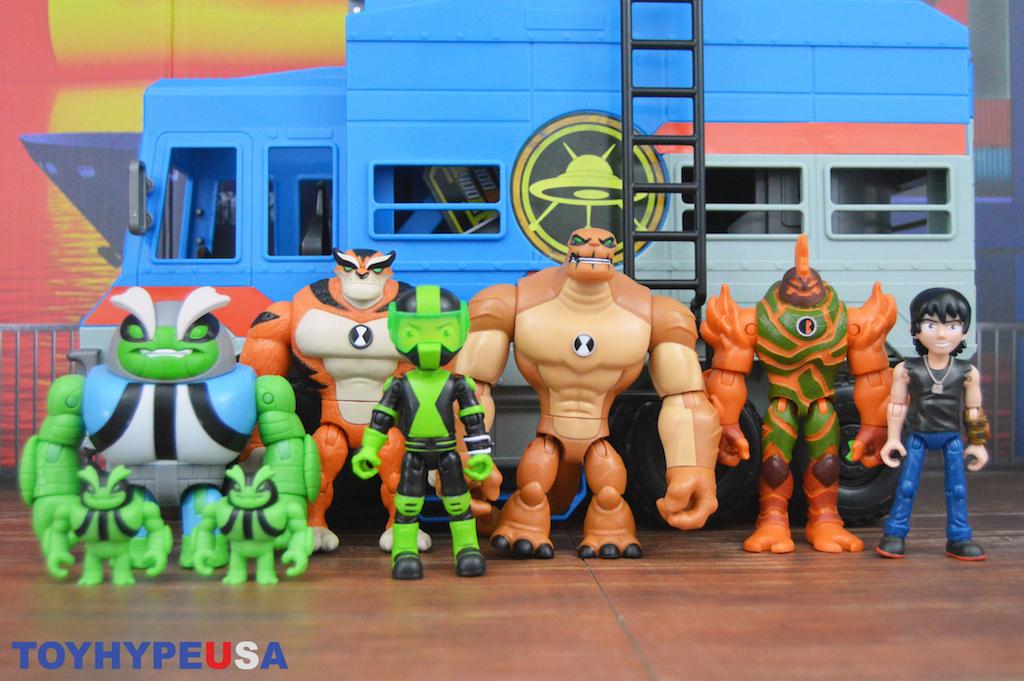 Playmates Toys Ben 10 – Kevin 11 & Rath Figures Review