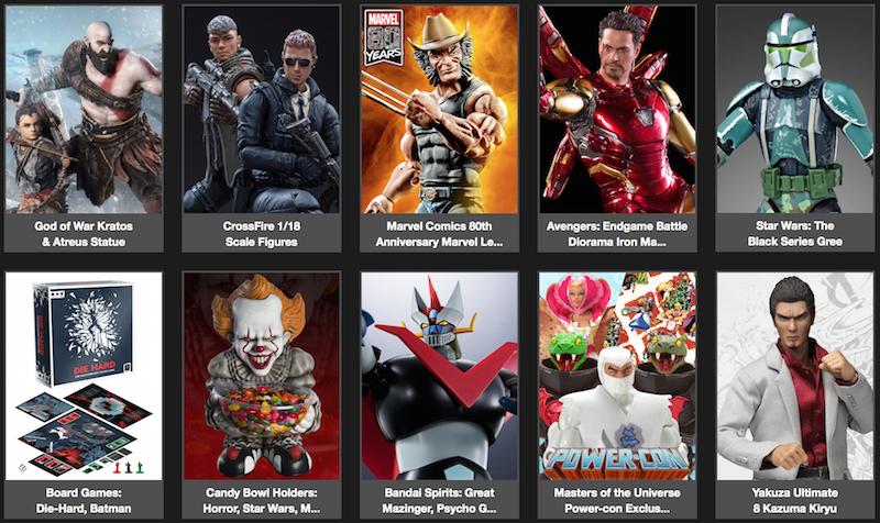 BigBadToyStore News – Marvel Legends, Star Wars Black, NECA Horror, Toy Story, Street Fighter, Avengers, God Of War & More