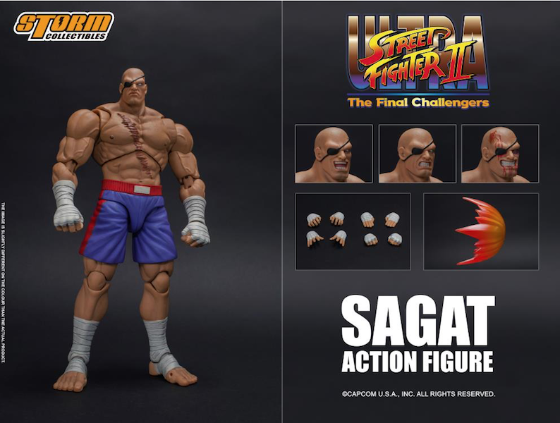 Storm Collectibles Street Fighter II Sagat 1/12th Scale Figure Pre-Orders