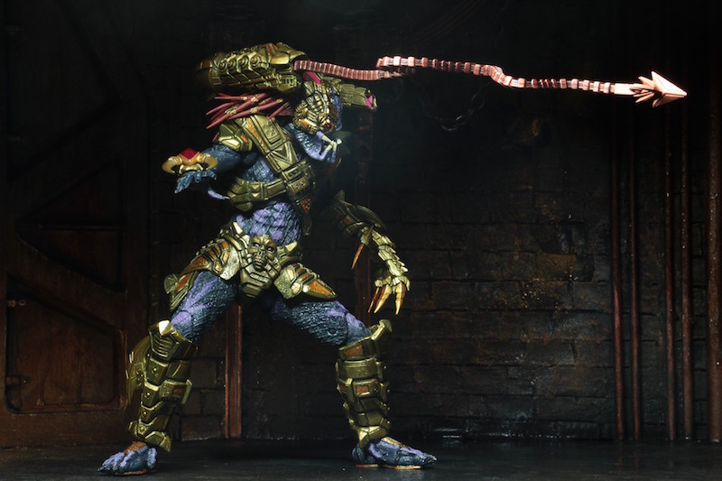 NECA Toys Shipping This Week – Ultimate Lasershot Predator & New Nightmare Freddy