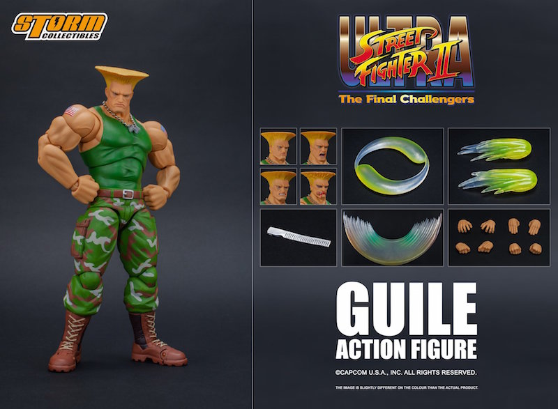 Storm Collectibles Street Fighter II Guile 1/12th Scale Figure