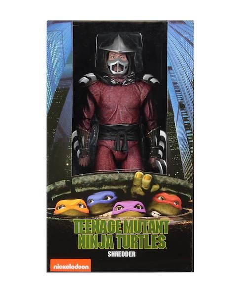 NECA Toys Teenage Mutant Ninja Turtles 1/4″ Scale Shredder Figure In-Packaging