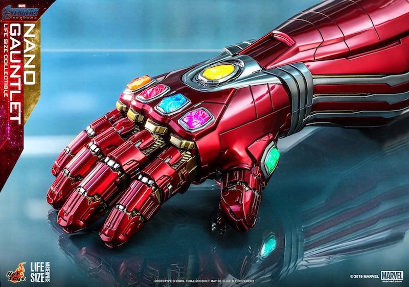 Hot Toys Avengers: Endgame Life-Size Nano Gauntlet Pre-Orders