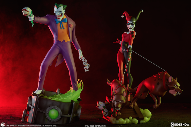 Sideshow Collectibles Batman: The Animated Series The Joker Statue Pre-Orders