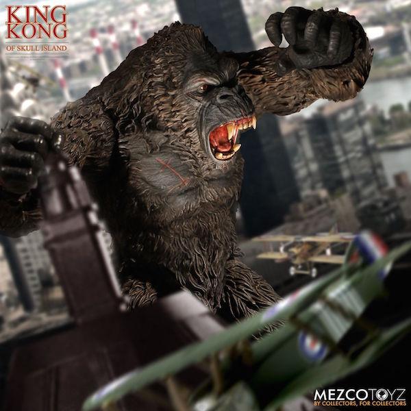Mezco Toyz Ultimate King Kong Of Skull Island Figure Pre-Orders