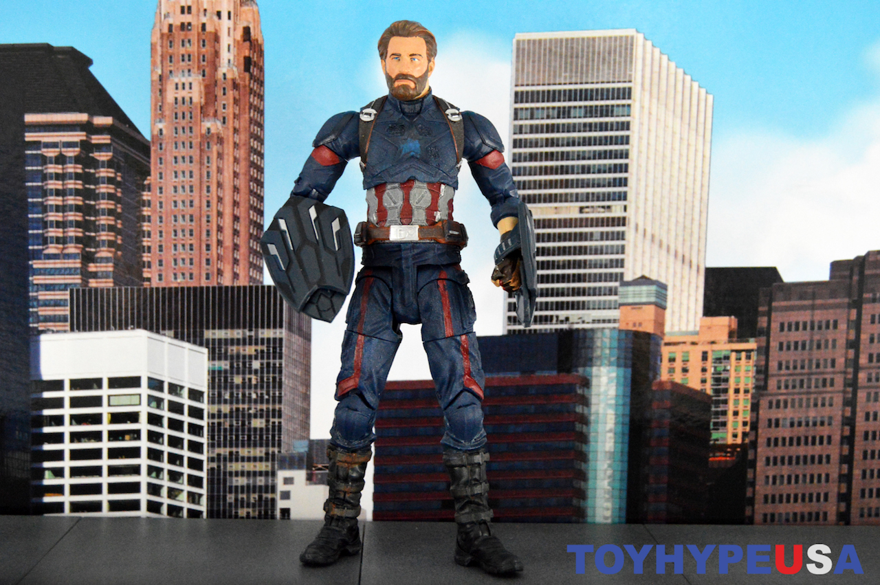 Diamond Select Toys Avengers: Infinity War Marvel Select Captain America Figure Review