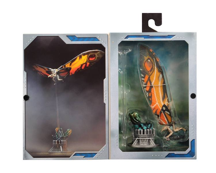 NECA Toys Godzilla: King Of The Monsters – Mothra Figure In-Packaging