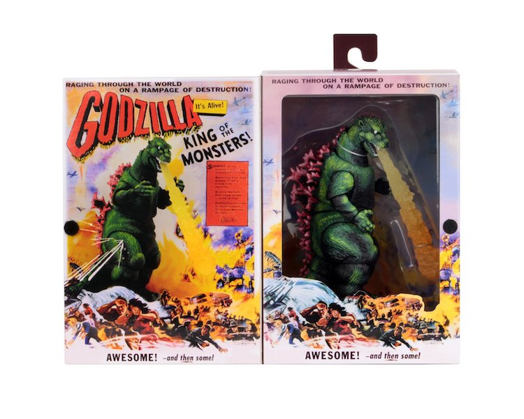 NECA Toys Shipping This Week – Jason Mask, Godzilla: King of Monsters Rodan & Godzilla 1956 Movie Poster