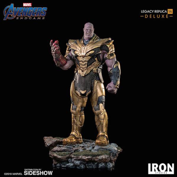 Iron Studios Avengers: Endgame Thanos 1/4″ Scale Statue Pre-Orders