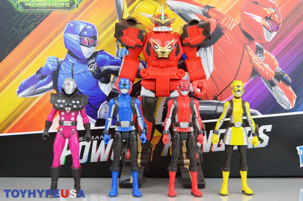 hasbro power rangers 6 basic figures 10 beast morphers zord figure review hasbro power rangers 6 basic figures