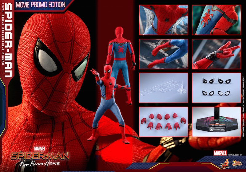 Hot Toys Spider-Man: Far From Home Spider-Man Movie Promo Edition Sixth Scale Figure Pre-Orders