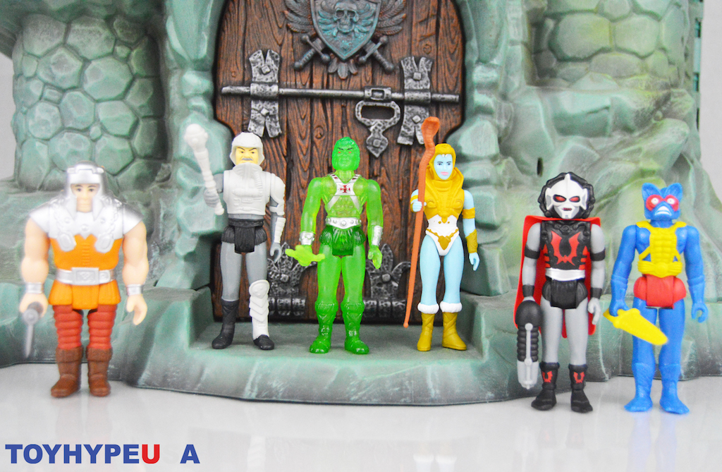 Super7 – Masters Of The Universe ReAction Variable Variants & Slime Pit He-Man Figures Review