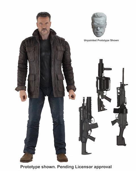 NECA Toys Terminator: Dark Fate Figures Announced