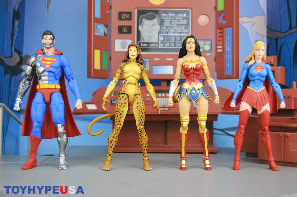 DC Collectibles – DC Essentials Cyborg Superman, The Cheetah, Supergirl & Wonder Woman Figures Review