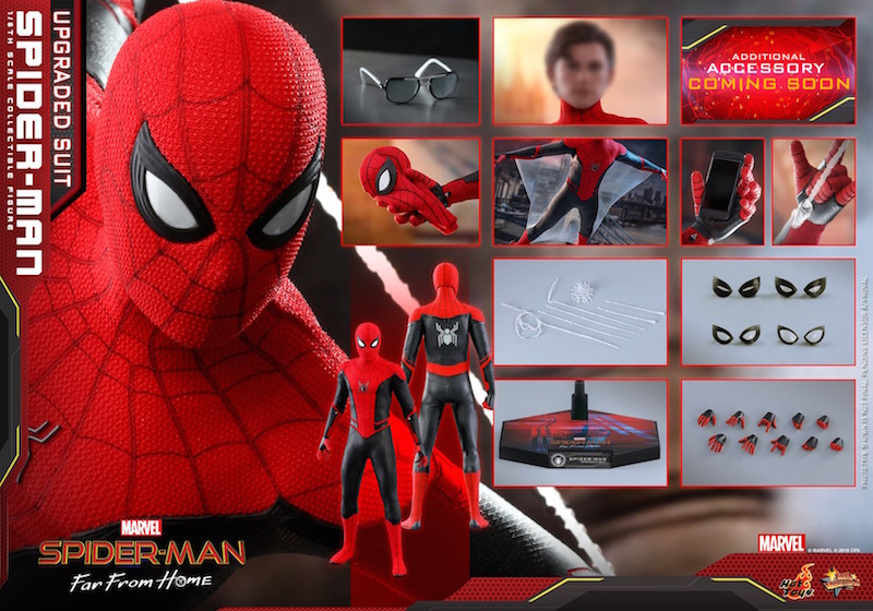 Hot Toys Spider-Man: Far From Home Upgraded Suit Spider-Man Sixth Scale Figure Pre-Orders