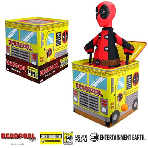 Entertainment Earth San Diego Comic-Con 2019 Exclusive – Deadpool Jack-In-The-Box