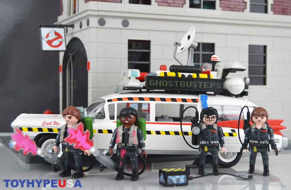 Playmobil Ghostbusters 70170 Ecto-1A Vehicle Set Review