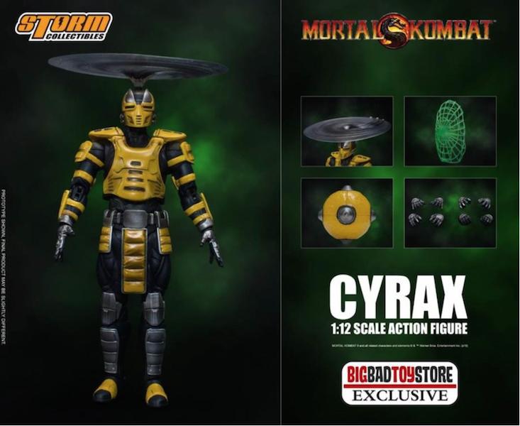BigBadToyStore Exclusive – Storm Collectibles Mortal Kombat Vs Series Cyrax 1/12 Scale Figure