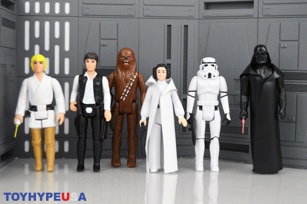 Hasbro Star Wars Retro Collection Wave 1 Figures Review