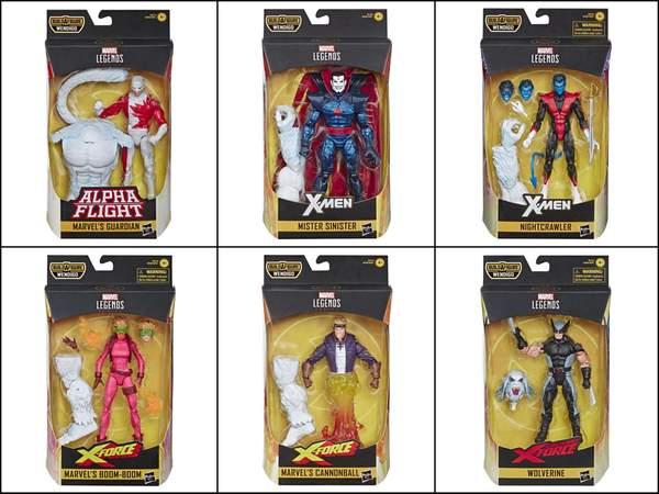 Hasbro Marvel Legends X-Force 6″ Wave 1 Figures Now $17 & Up On Amazon