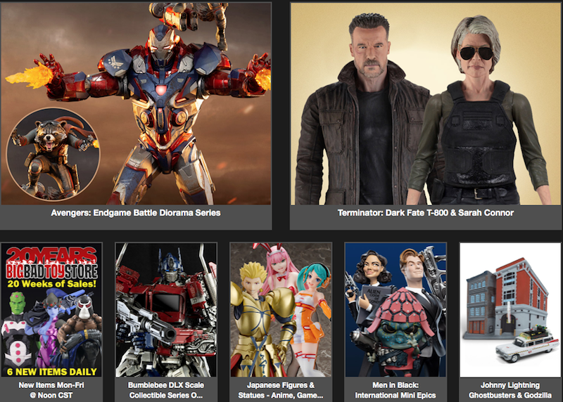 BigBadToyStore News – Terminator, Optimus Prime, Devil May Cry, X-Men, Joker, Voltron, Dragon Ball, Transformers, Naruto & More