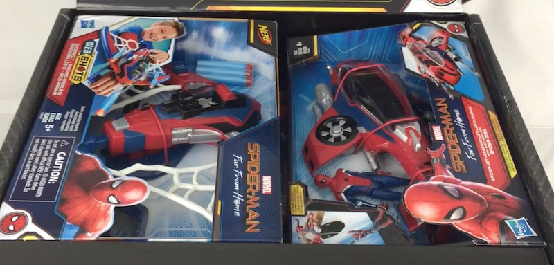 Hasbro Spider-Man: Far From Home PR Box Video Unboxing & Review