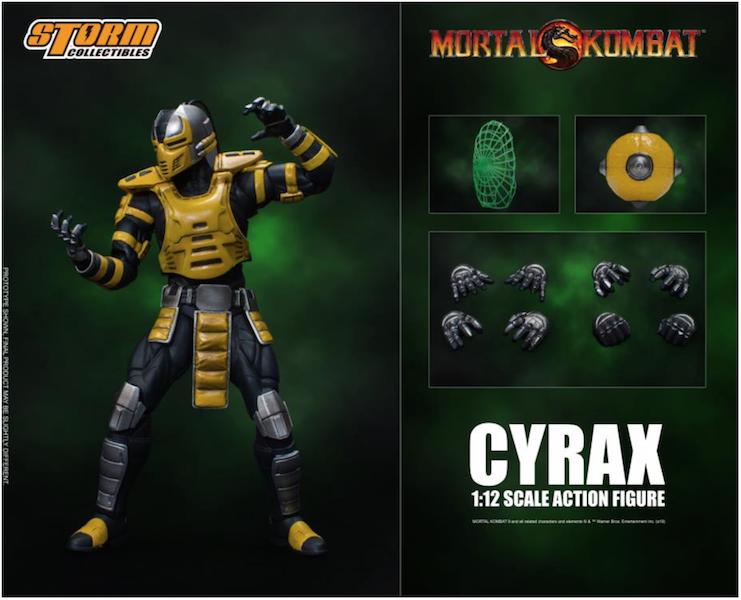 Storm Collectibles Mortal Kombat Vs Series Cyrax 1/12 Scale Figure Pre-Orders