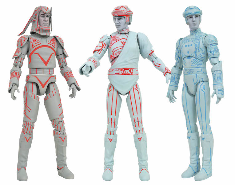 Diamond Select Toys Tron Movie Select Figures Series 1 In-Packaging