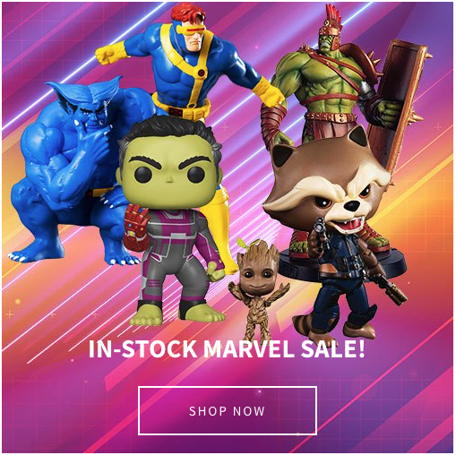 Entertainment Earth – In-Stock Marvel Sale, SDCC 2019 Exclusives, WWE & New Daily Deals