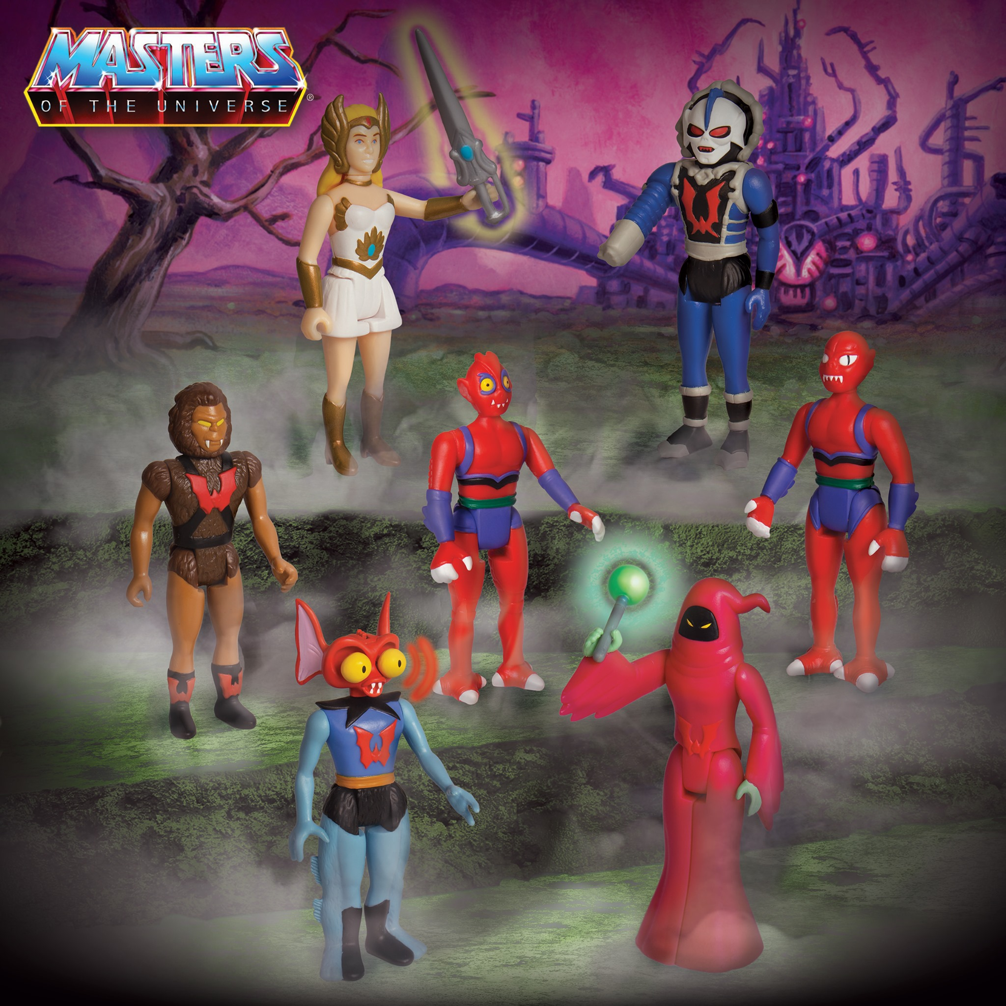 Super7 – Masters Of The Universe ReAction Figures Wave 5 – Princess Of Power Assortment Available Now