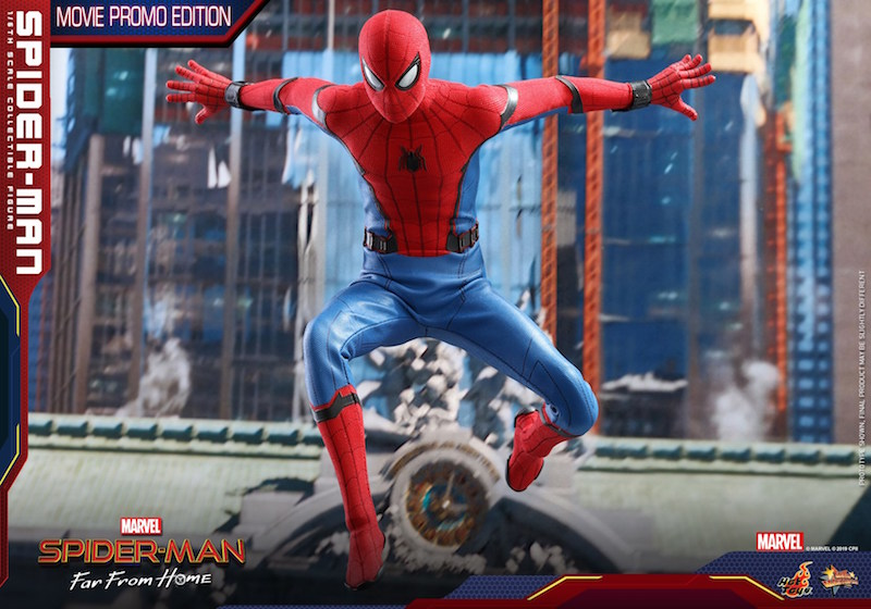 Hot Toys Spider-Man: Far From Home Spider-Man Movie Promo Edition Sixth Scale Figure