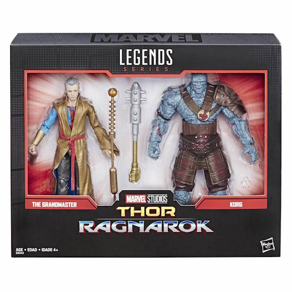 Hasbro Marvel Legends 6″ The Grandmaster & Korg 2-Pack, X-Men Waves & More Coming In July/August