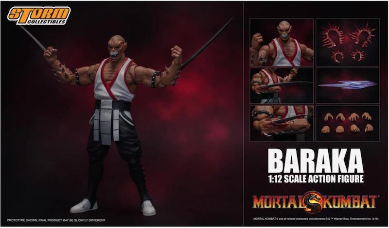 Storm Collectibles Mortal Kombat Baraka Figure Available Now