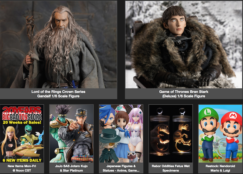 BigBadToyStore News – Batman Hush, Mortal Kombat, Sam & Max, Nendoroid, Godfather, Dragon Ball, Street Fighter & More