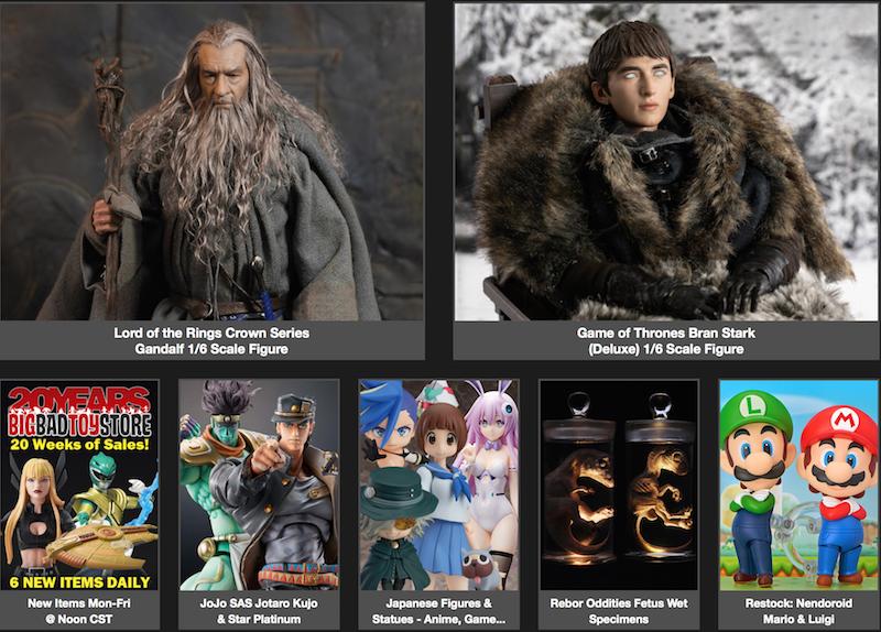 BigBadToyStore News – Batman Hush, Mortal Kombat, Sam & Max, Nendoroid, Godfather, Dragon Ball, Street Fighter & More