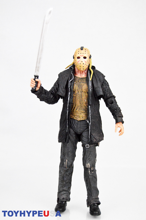 NECA Friday The 13th Jason 2009 Remake Voorhees Action Figure Horror Toy