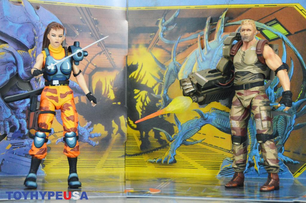 NECA Toys Alien Vs Predator – Dutch & Lynn Figure 2-Pack Review