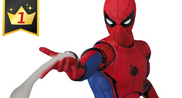 Hobby Link Japan – Mafex Spider-Man: Homecoming, Diaclone, G.I. Joe, Ultraman & More