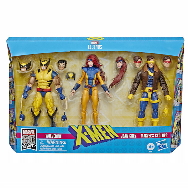 Entertainment Earth – Marvel Legends Jean Grey, Cyclops & Wolverine 3 Pack, Captain America & Motorcycle, & More Older Figures In-Stock