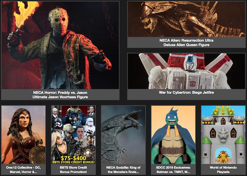 BigBadToyStore News – One:12 Harley Quinn, Super7 ReAction, MMPR, Diamond Select, JoJo, Metroid & More