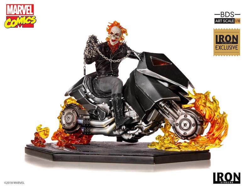 Iron Studios Ghost Rider1/10th Scale Battle Diorama Series Statue Pre-Orders