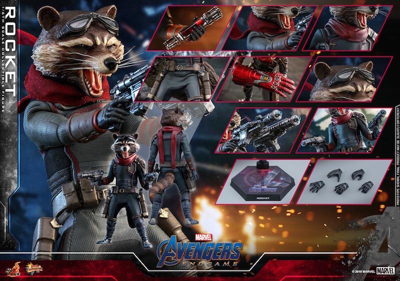 Hot Toys Avengers: Endgame – Rocket Raccoon Sixth Scale Figure Pre-Orders