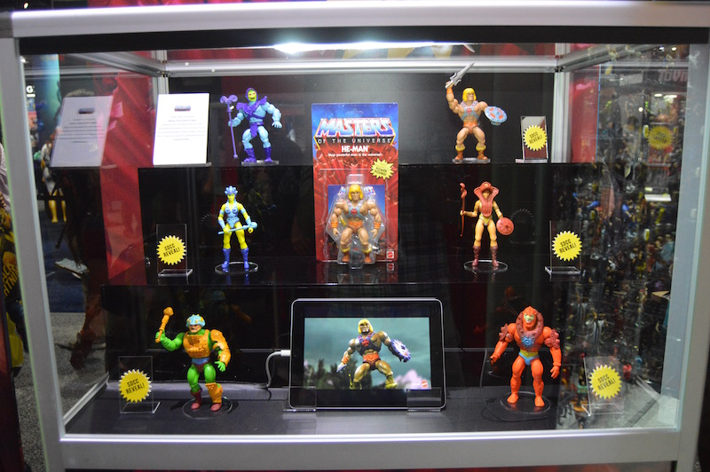 Mattel SDCC 2019 Day 2 – Masters Of The Universe Booth Coverage